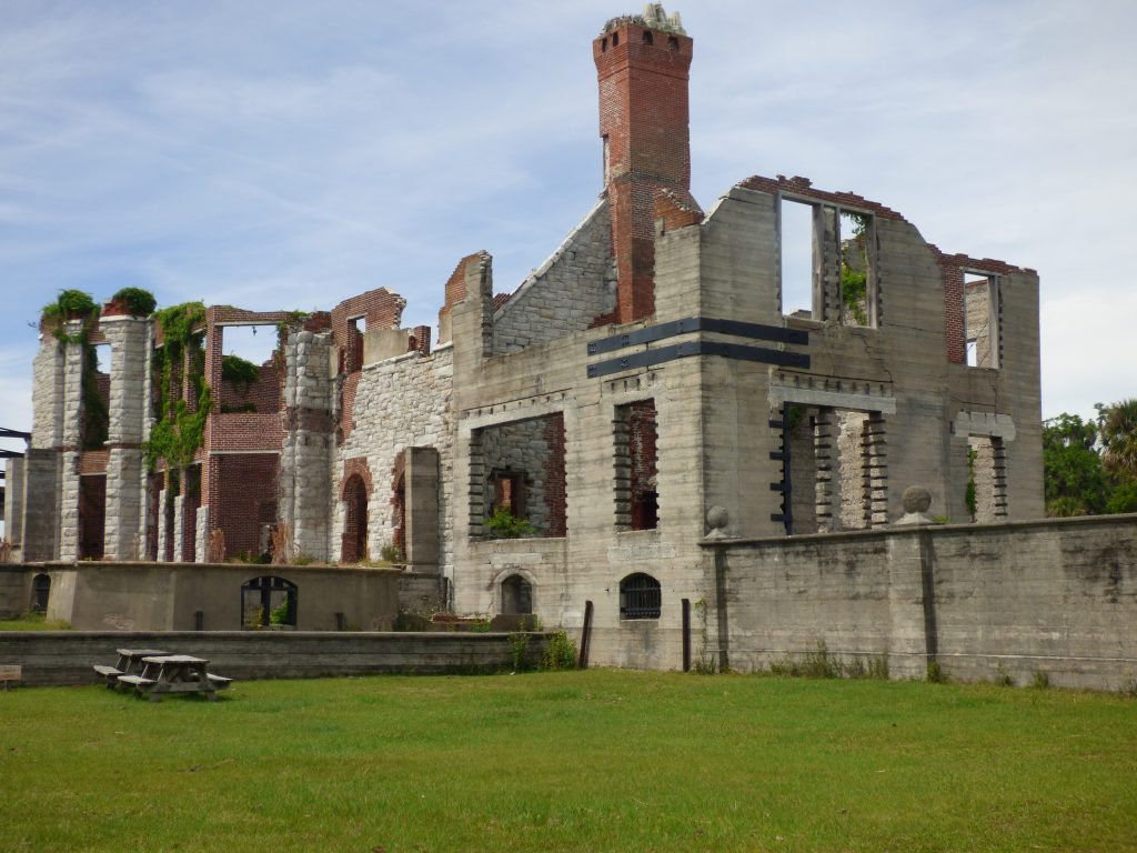 The Ruins at Dungeness on Cumberland Island, Georgia