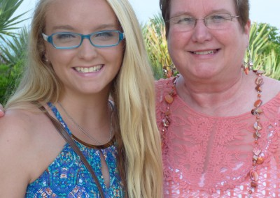 Kendall and Aunt Debbie